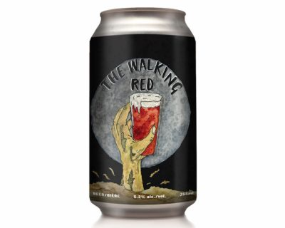 THE WALKING RED IS THE PERFECT BEER FOR AN APOCALYPSE