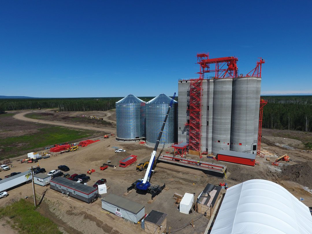 NEW ELEVATOR OPTION FOR NORTHERN ALBERTA FARMERS