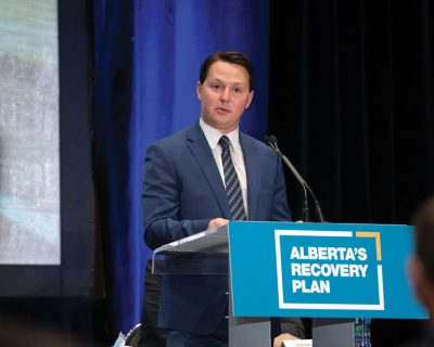 ALBERTA RECOVERY PLAN GOES INTO ACTION